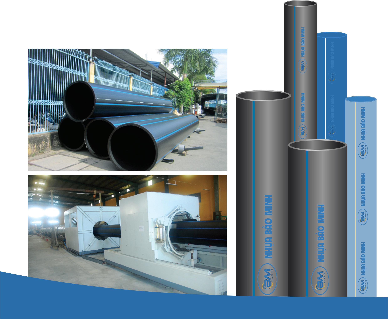 ống nhựa HDPE trơn